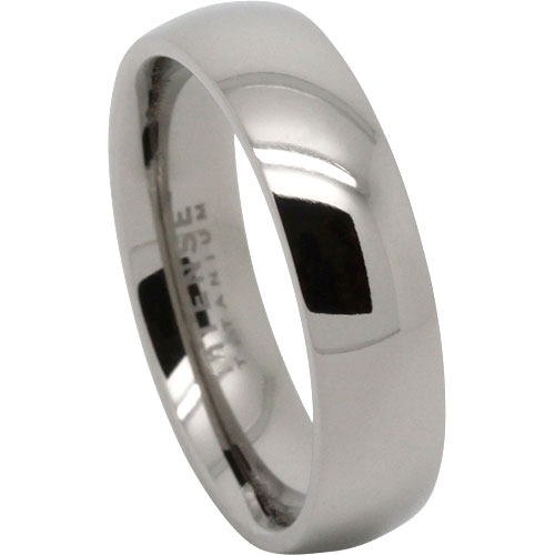 Wonderful Titanium Mens Wedding Ring