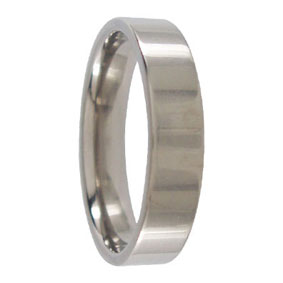 5mm Titanium Wedding Ring
