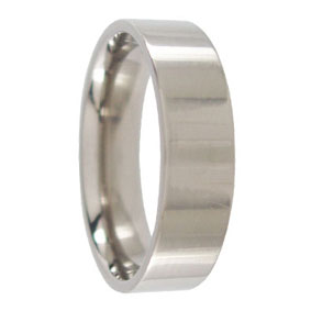 Titanium Mens Wedding Band