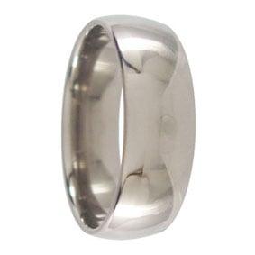 7mm Titanium Wedding Ring