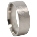 Meteorite Titanium Mens Wedding Band