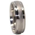 Comet Titanium Mens Ring