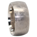 Wide Comet Titanium Mens Ring