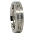 Mens Titanium Wedding Ring
